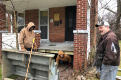 Outside Porch Stairs Repair